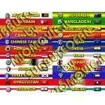 AFC - Tutte le nazionali