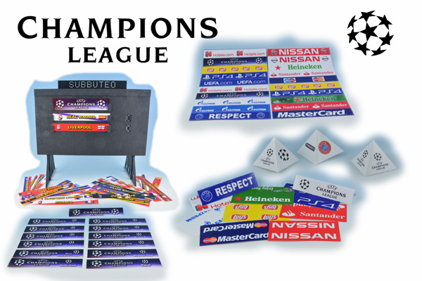 Accessori stadio Champions League 2018/19