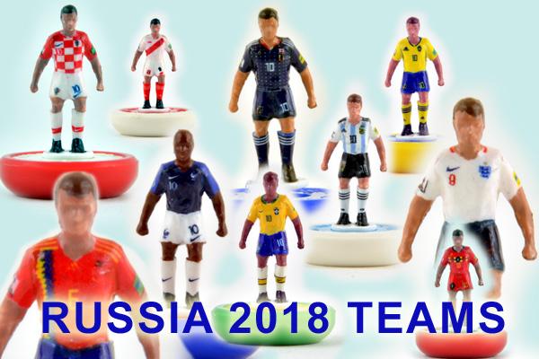 Squadre RUSSIA 2018