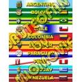 CONMEBOL - Tutte le nazionali